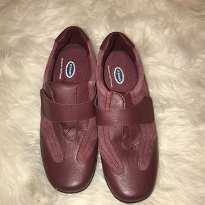 DR SCHOLLS LEATHER AND SUEDE SHOES